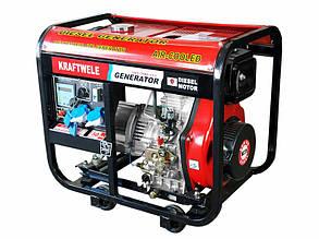 Дизельний генератор Kraftwele SDG7800 1F