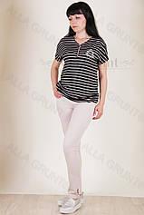 Блуза трикотажная 7001-141/2-238 полубатал от производителя Украина