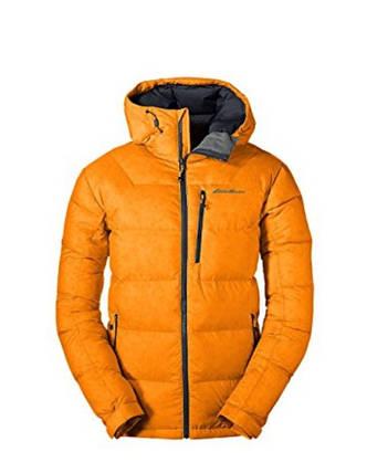 Мужской пуховик Eddie Bauer Men Downlight Alpine Jacket ORANGE, фото 2