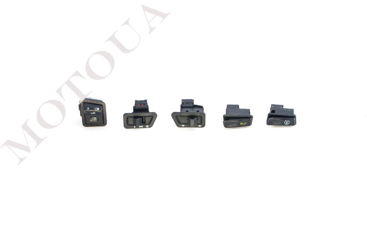 Кнопки руля (набор) 4T GY6 125/150 (5шт) ZUNA