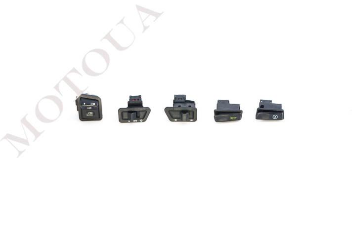 Кнопки руля (набор) 4T GY6 125/150 (5шт) ZUNA, фото 2