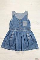 Сарафан джинсовый для девочки (146 см)  No name 2100000260041