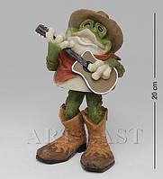 Фигурка Лягушка гитарист 20 см FG-6371-XC