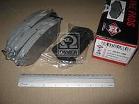 Колодки тормозные SUBARU OUTBACK (ASHIKA). 50-07-709