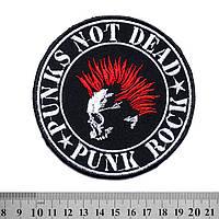 Нашивка Punk's Not Dead - Punk Rock
