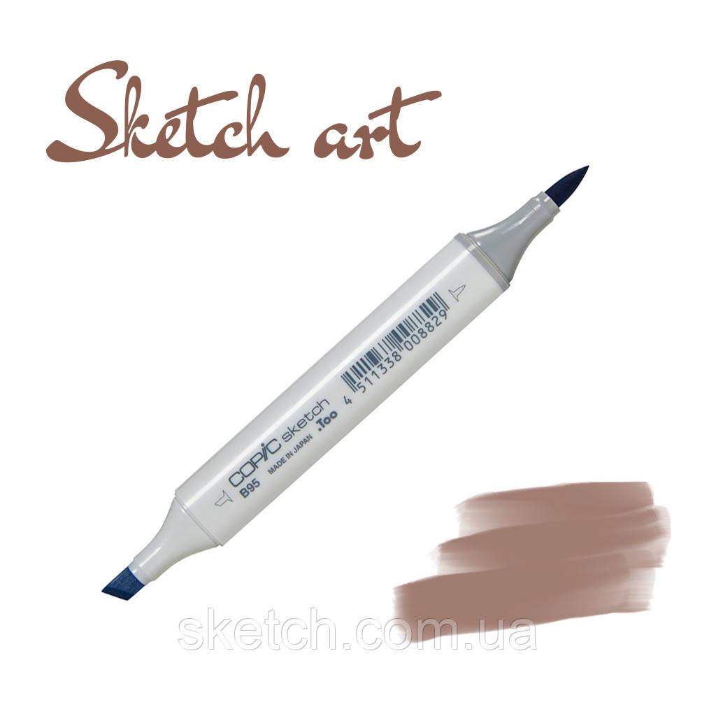 Copic маркер Sketch, #E-47 Dark brown