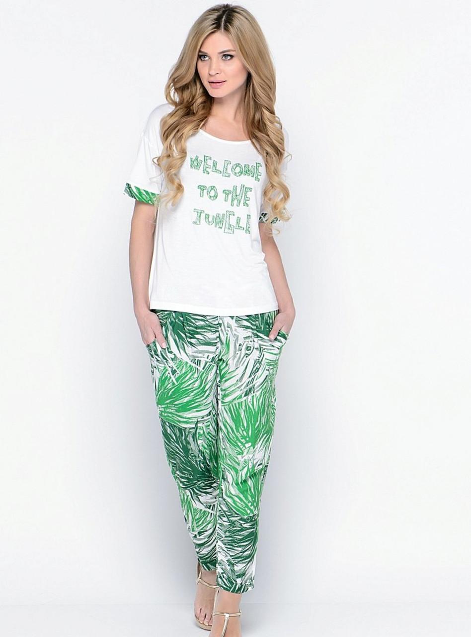 Кофта со штанами Penye Mood 7717, пляжная одежда