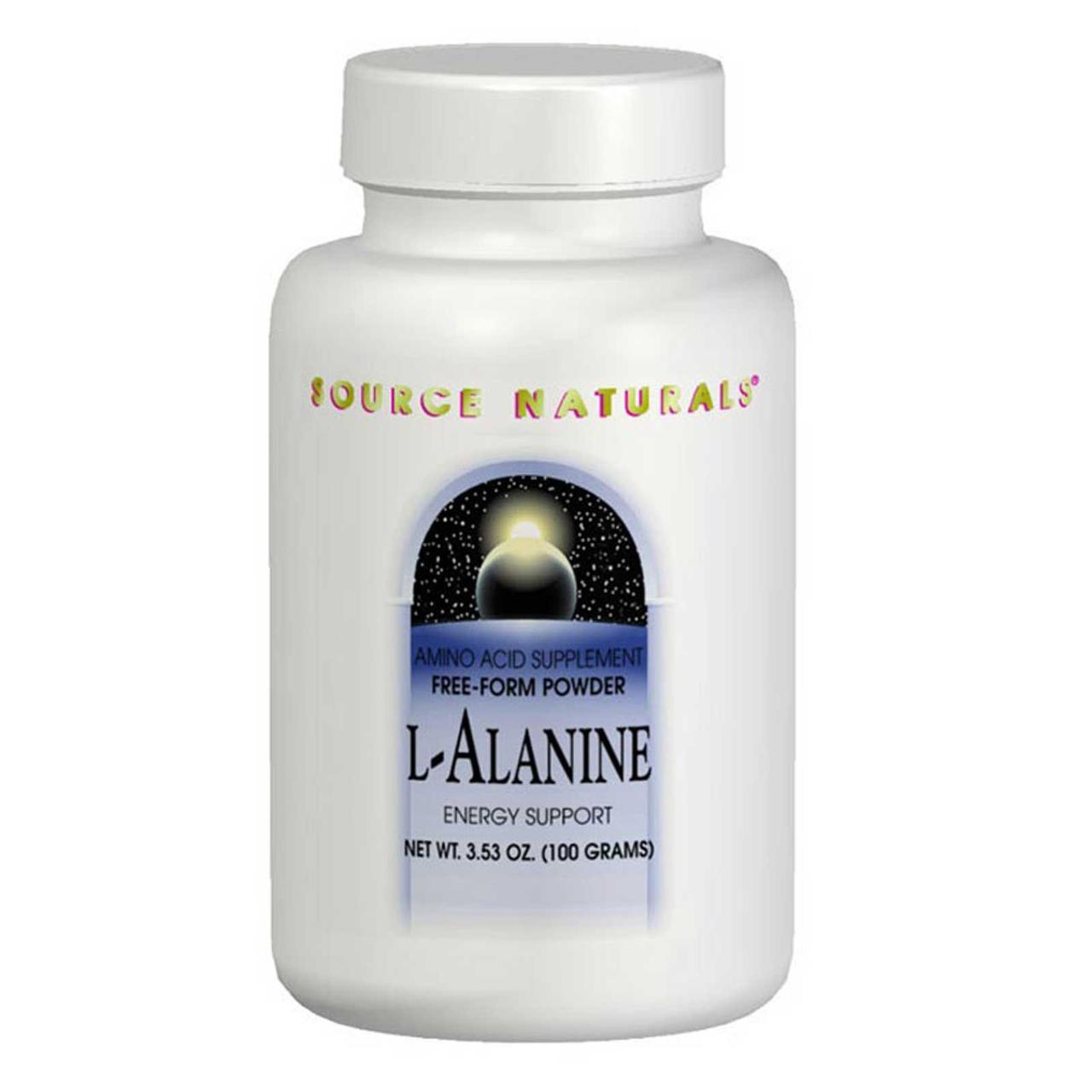 Source Naturals, L-Аланин 3.53 унции (100 г)