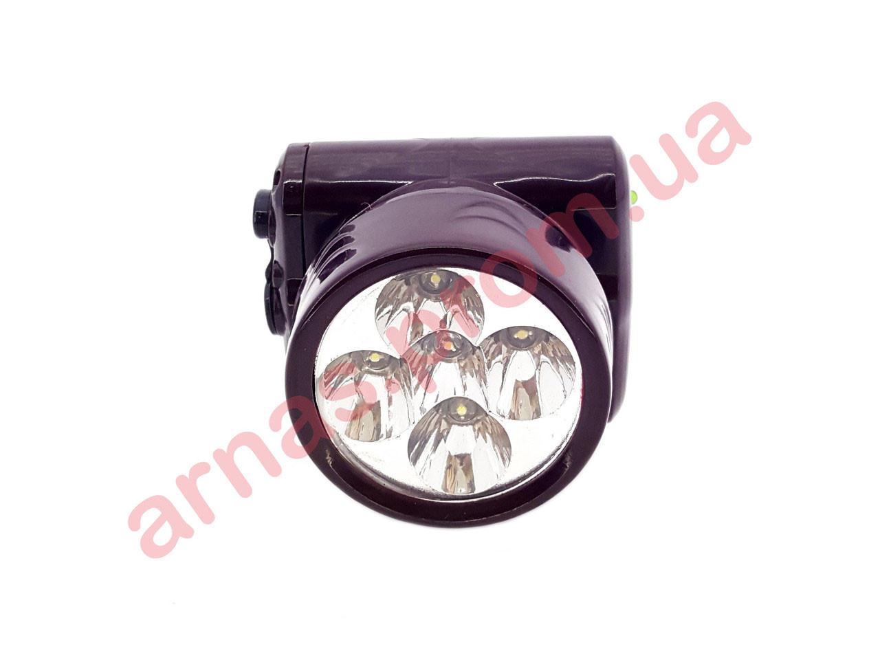 Аккумуляторный налобный фонарь Yajia YJ-1829-5