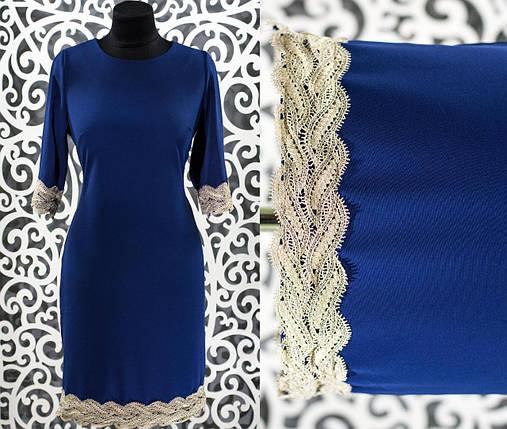 Стильное женское платье ткань *Костюмная* 48, 50 размер батал, фото 2