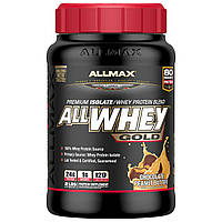 ALLMAX Nutrition, AllWhey Gold, 100% Whey Protein + Premium Whey Protein Isolate, Chocolate Peanut Butter, 2 lbs (907 g)
