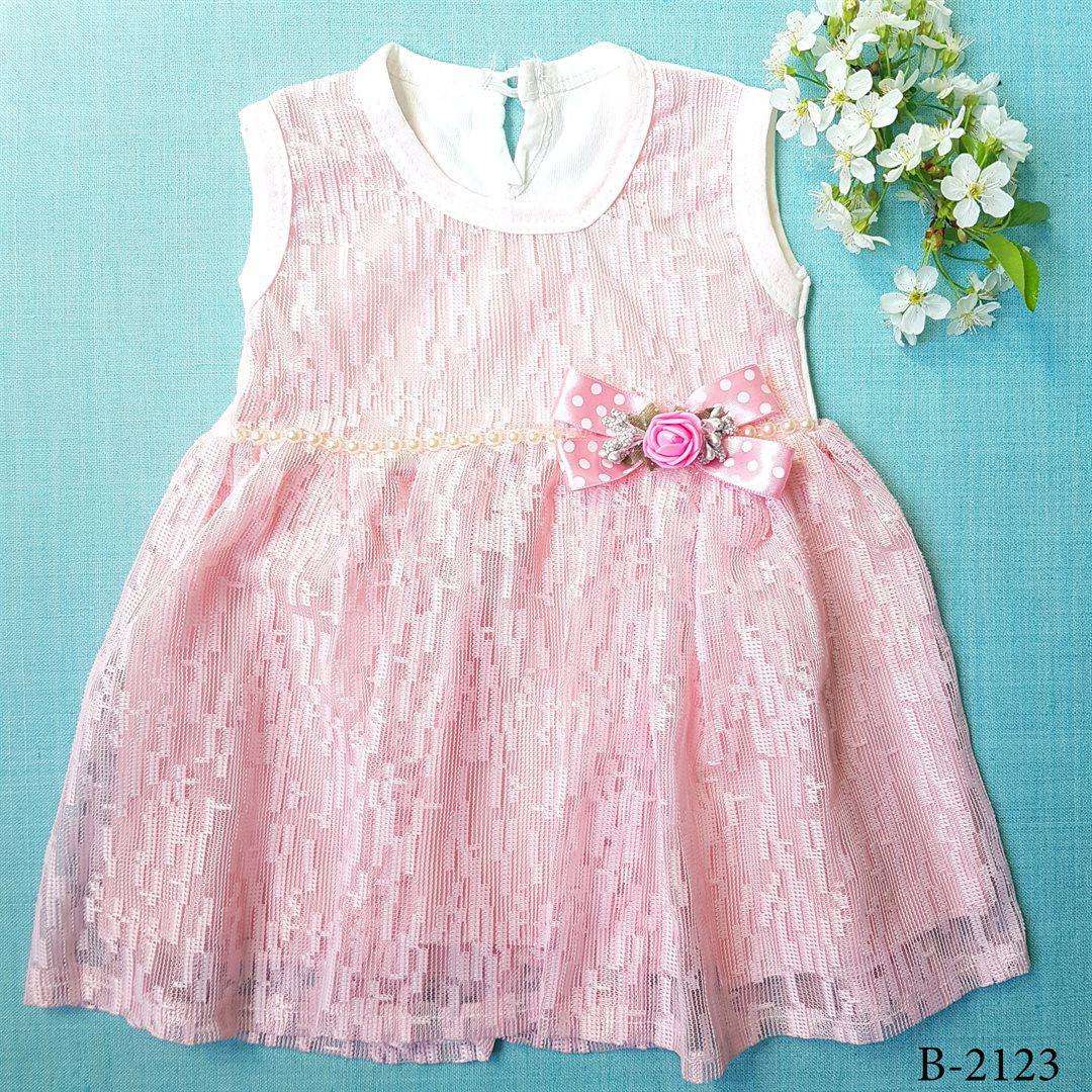 7cf08828231 Опт Детское платье для девочки+бантик в горошек (6-12-18 мес) на ...