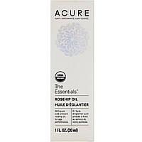 Acure Organics, The Essentials, масло шиповника, 1 ж. унц. (30 мл)