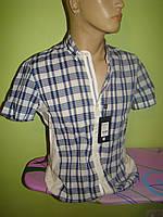 Мужская рубашка тенниска AVVA Турция маленькие размеры