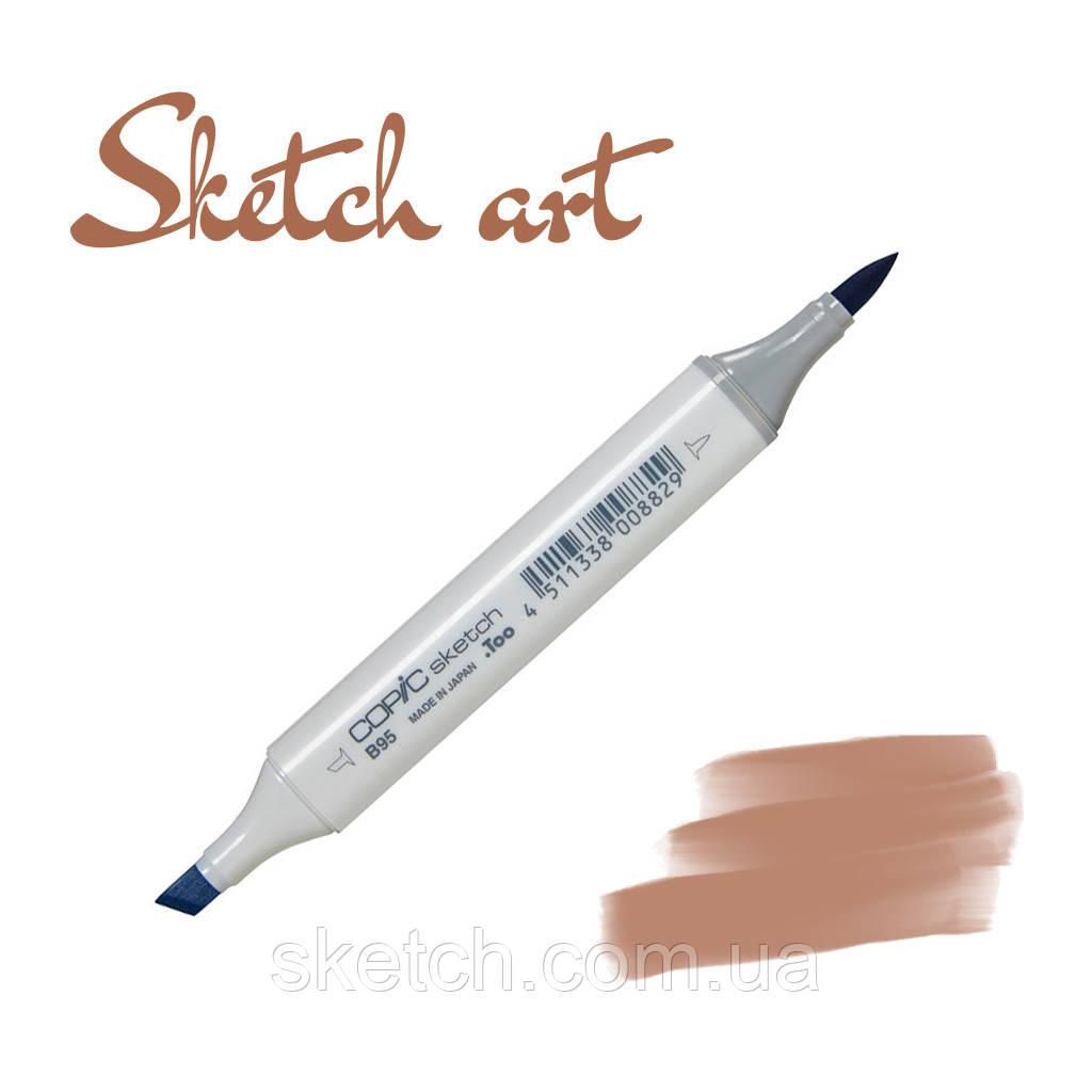 Copic маркер Sketch, #E-57 Light walnut
