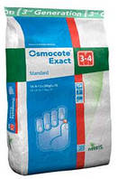 Удобрение Osmocote Standard 3-4м 25 кг