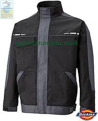 Куртка мужская рабочая демисезонная черная Dickies США DK-GDT-J BS