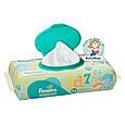 Детские влажные салфетки Pampers Natural Clean, 64 шт, фото 4