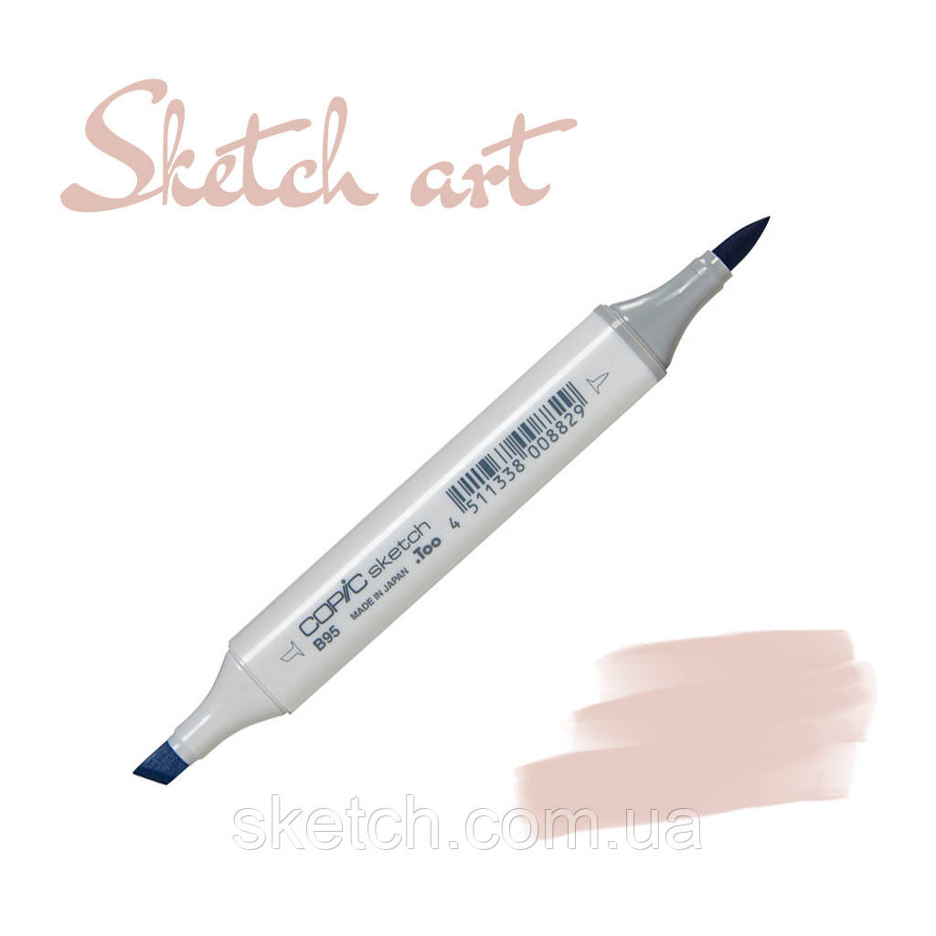 Copic маркер Sketch, #E-70 Ash rose