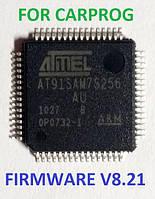 Прошитый процессор AT91SAM7S256-AU firmware для CARProg 8.21 and online of 9.31