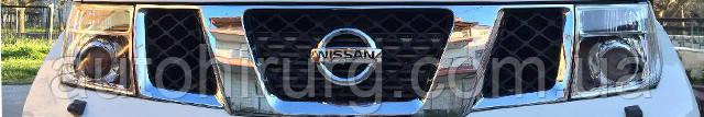 Разборка автомобиля Nissan navara d40 на запчасти в Украине