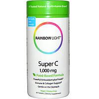 Rainbow Light, Супер С, 1000 мг, 60 таблеток