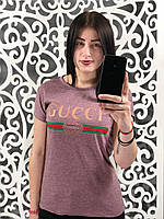 Женская футболка Gucci 44, 46 размер норма