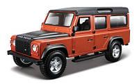 Игрушка Автомодель - LAND ROVER DEFENDER 110 (ассорти белый, оранжевый металлик 1:32)