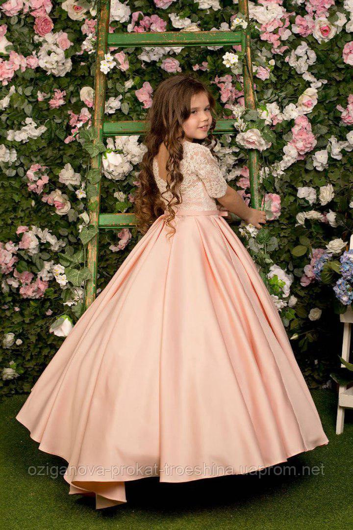 69cc6fe8fc1 Детское нарядное платье Амира - прокат