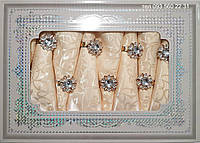 Тканевая скатерть с салфетками в подарочной упаковке АРТ-0821588 (бежево-персиковая), фото 1
