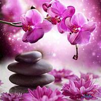 """Алмазная вышивка """"Орхидея """" (картина своими руками)"""