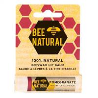 """Bee Natural Lippenbalsam """"Granatapfel"""" - Бальзам для губ"""