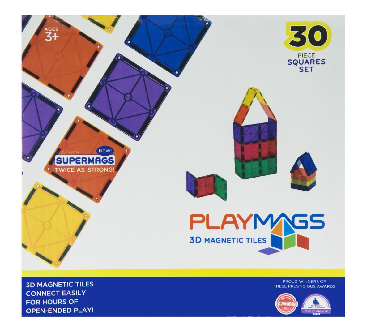 Playmags Магнитный набор 30 эл. PM154
