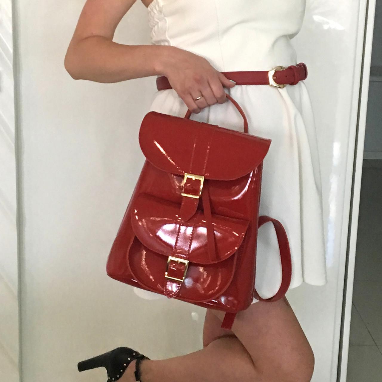 e173a84e1eae Женский кожаный рюкзак