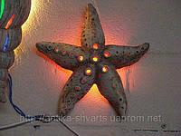 Керамический светильник для ландшафтного дизайна Море ассорти 2