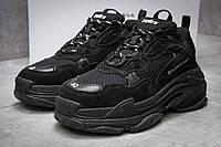 """Кроссовки мужские Balenciaga  Triple S, черные (12501),  [   41 42  ] """"Реплика"""", фото 1"""
