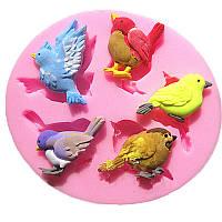 Молд силиконовый Птицы Птички