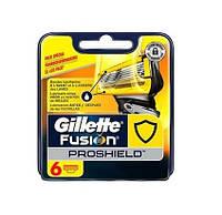 Картриджи Gillette Fusion ProShield  Оригинал 6 шт в упаковке производство Германия