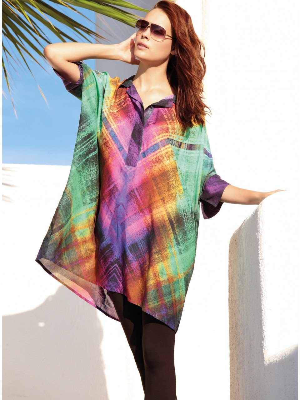 Платье-рубашка с лосинами Penye mood 7745