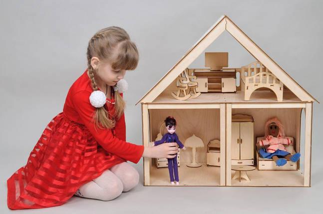 Кукольный домик FANA Особняк для Барби 3 комнаты/2 этажа (3003), фото 2