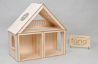 """Кукольный домик FANA """"Особняк для Барби"""" 3 комнаты/2 этажа, фото 2"""