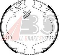 Колодки тормозные барабанные стояночного тормоза торм CHEVROLET LACETTI задние (ABS). 9220