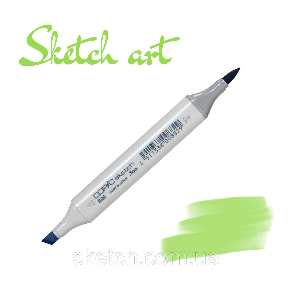 Copic маркер Sketch, #G-14 Apple green