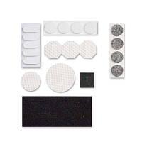 1002125 Войлочные подкладки для мебели самоклеющиеся, набор, накладки на мебельные ножки, мебельные накладки, мебельные декоративные накладки,