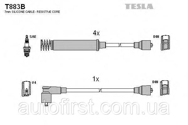 Tesla T883B Высоковольтные провода Opel