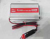 Автоинвертор,преобразователь Power Inverter ELITE lux 12/220 200вт