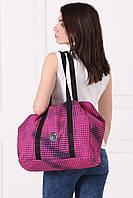 Розово-черная сумка-трансфомер SHOPER