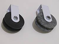 Ролик для бельевой веревки, нетяжелых грузов пластиковый d 50мм