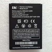 Оригинальный аккумулятор (АКБ, батарея) BL-07 для THL 4000 4000mAh