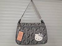 РАСПРОДАЖА Сумка для девочки в школу почтальонка  *Kitty* хорошее качество по низкой цене